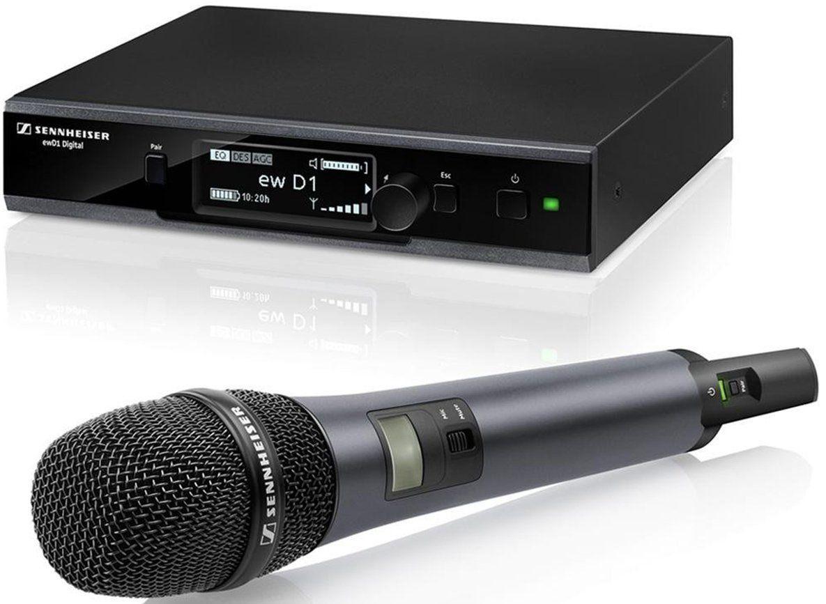 Sennheiser EW D1-845S-NH-US Microfone sem fio EW D1-845-S-NH-US para palco