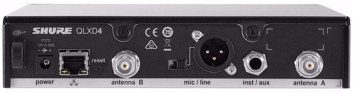 Shure QLXD24/B87 Microfone sem Fio Shure QLXD24/BETA87