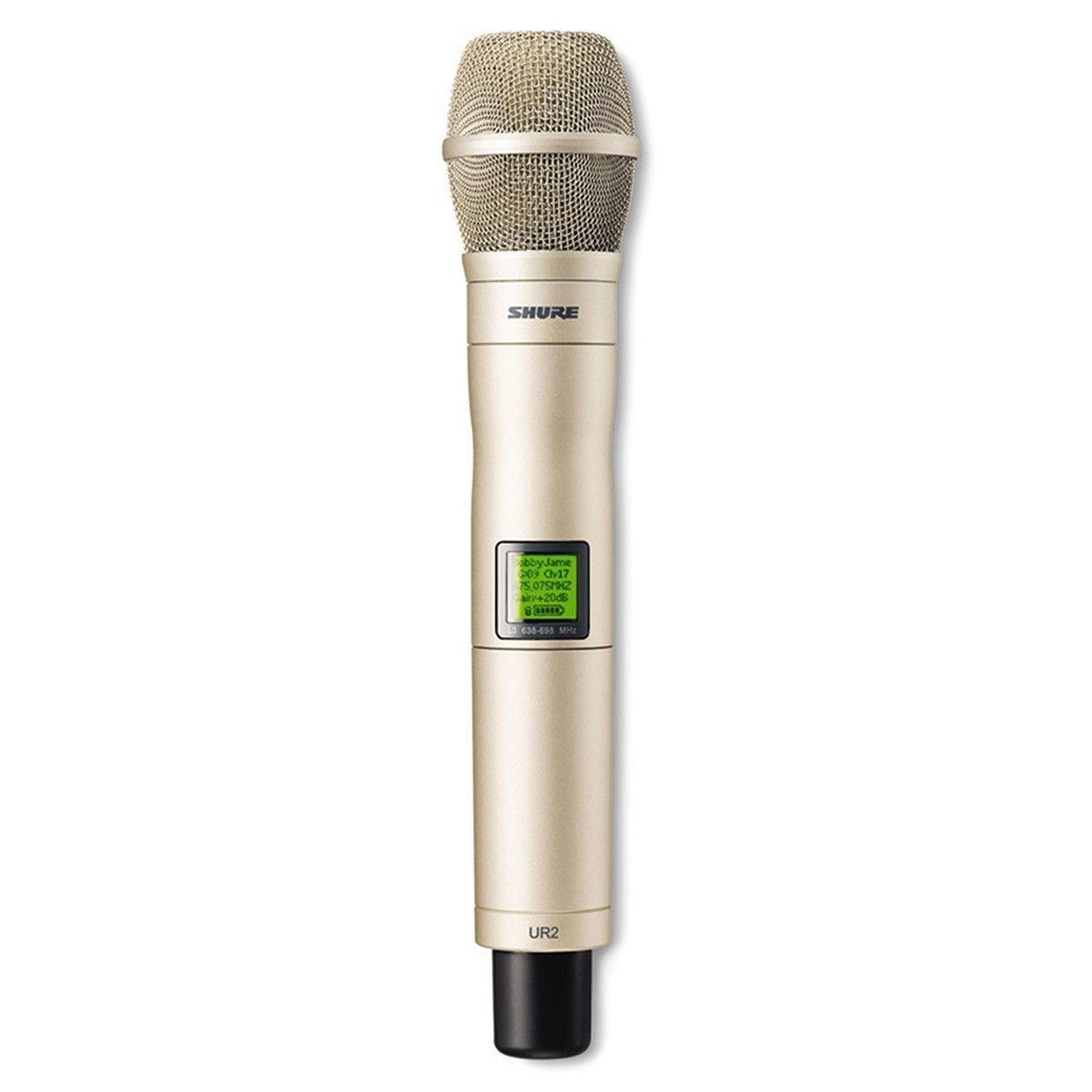 Shure UR2/KSM9 Microfone Sem fio Shure UR2-KSM9 para a Série UHF-R e Palco