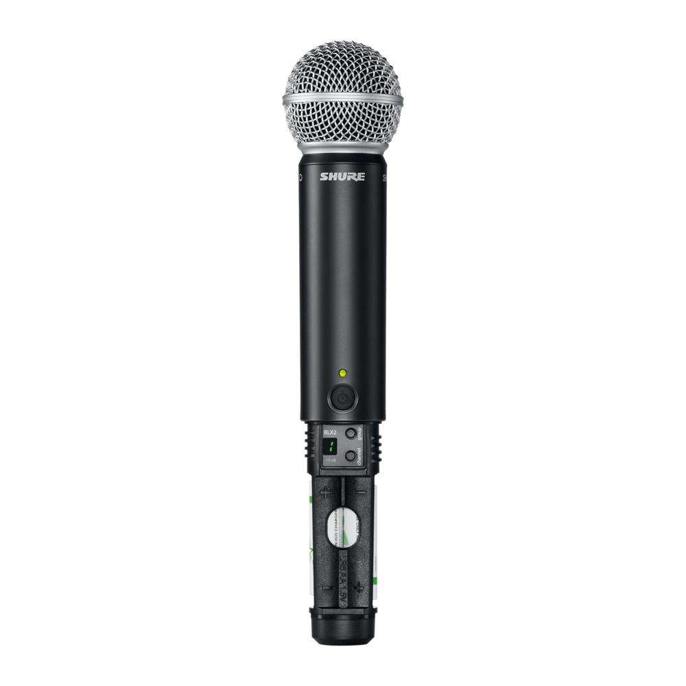 Shure BLX24R/SM58 Microfone Sem Fio Shure BLX24R SM58 para Vocais e Eventos