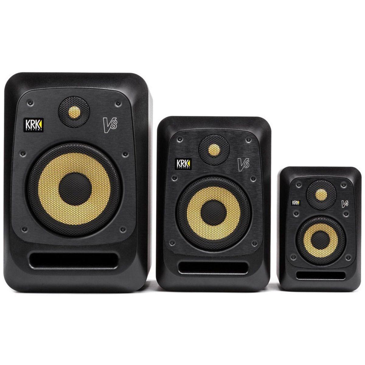 Krk V4-S4 Monitor de Áudio Krk V4 S4 com 85W
