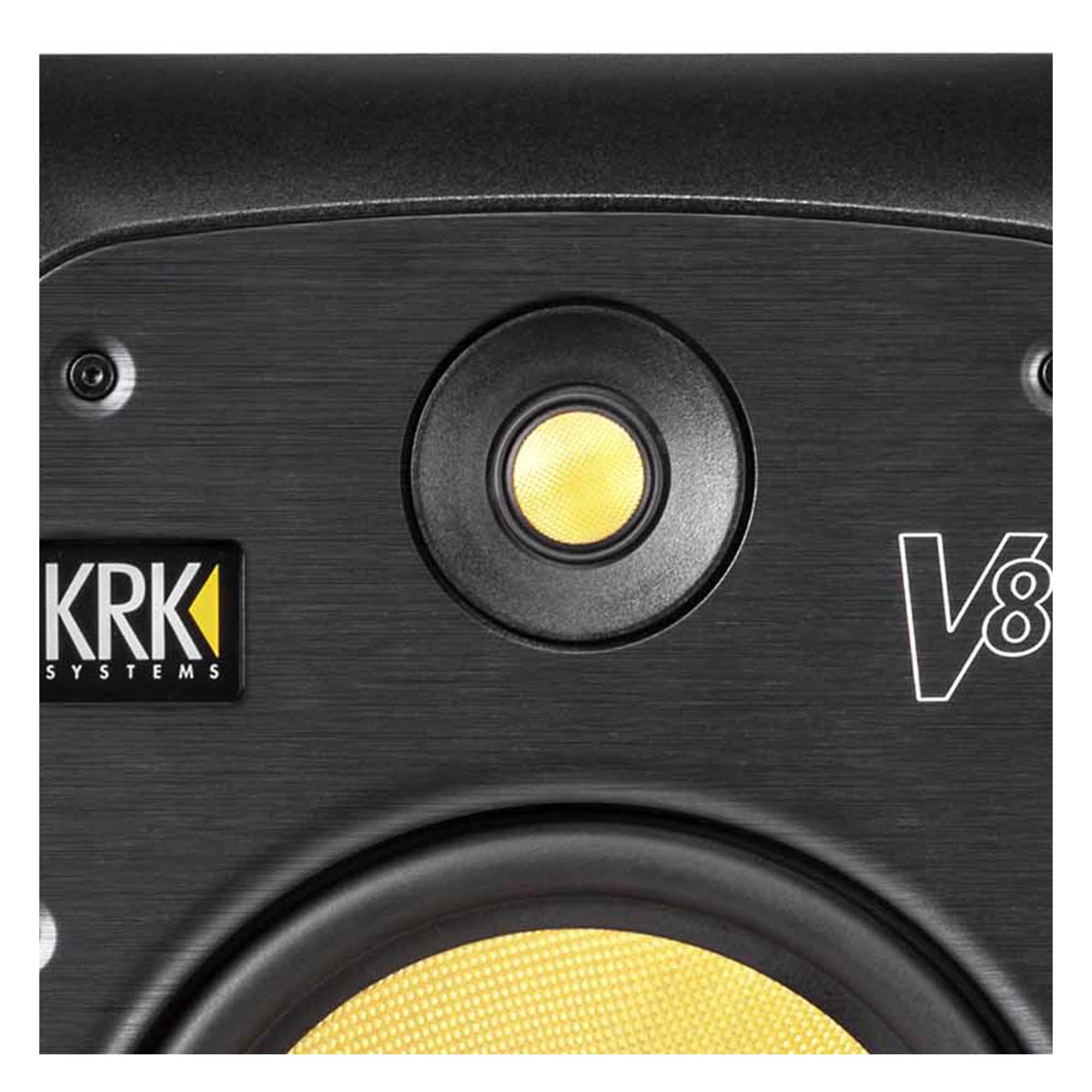 Krk V8-S4 Monitor de Áudio para Estúdio Produção Musical