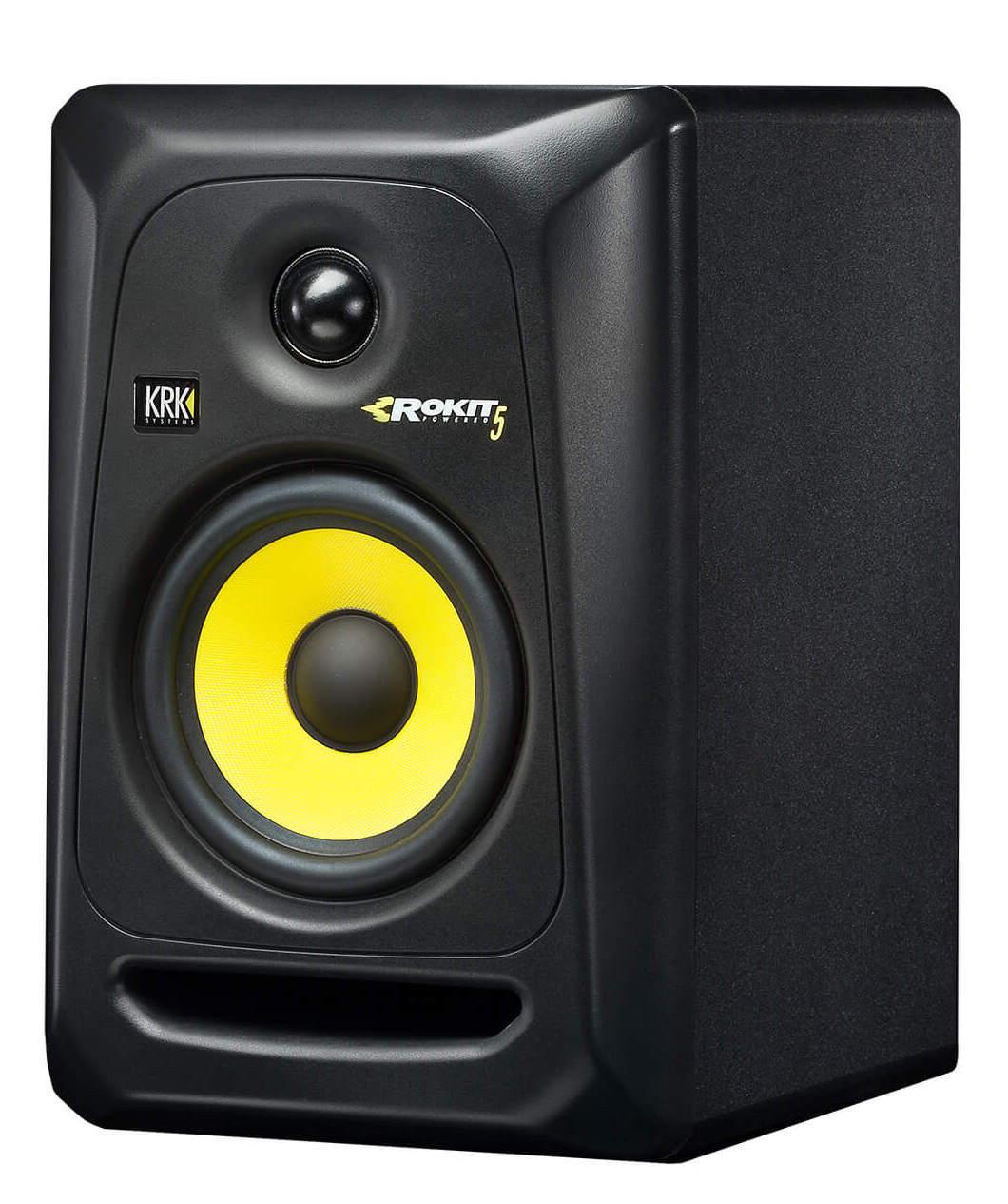 Krk Classic 5 Rokit Monitor de Áudio Bi-amplificado Krk Classic 5 50W de Potencia