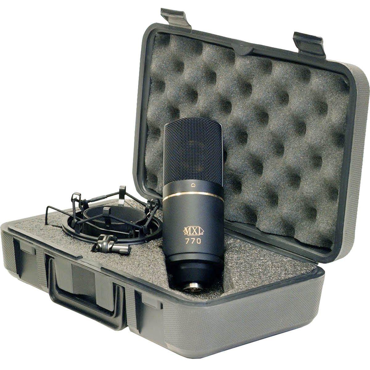 MXL 770 Microfone Cardioide Condensador MXL-770 Profissional perfeito para Rap
