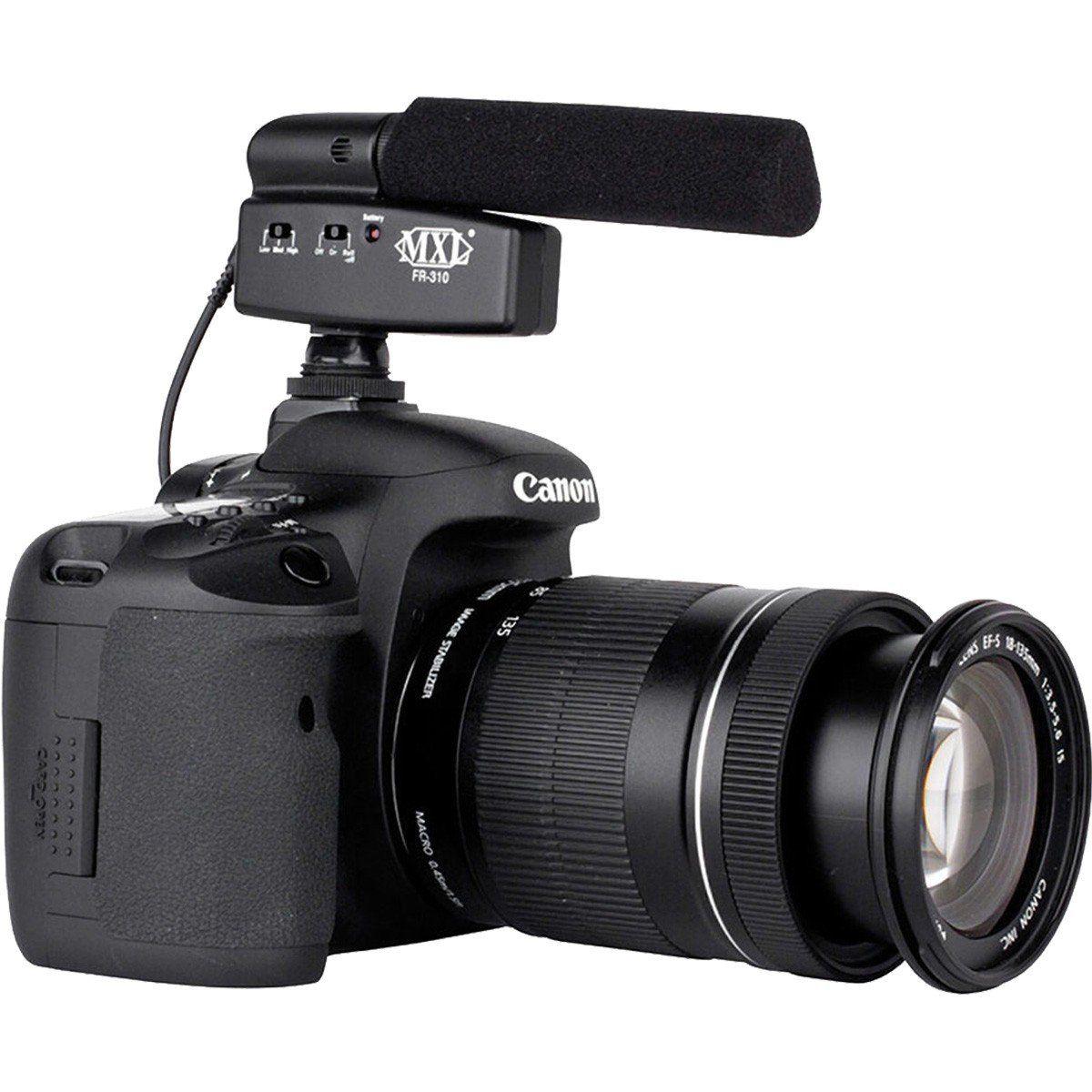 Mxl FR-310 Microfone Shotgun Mxl FR 310 para Câmera e Vídeo