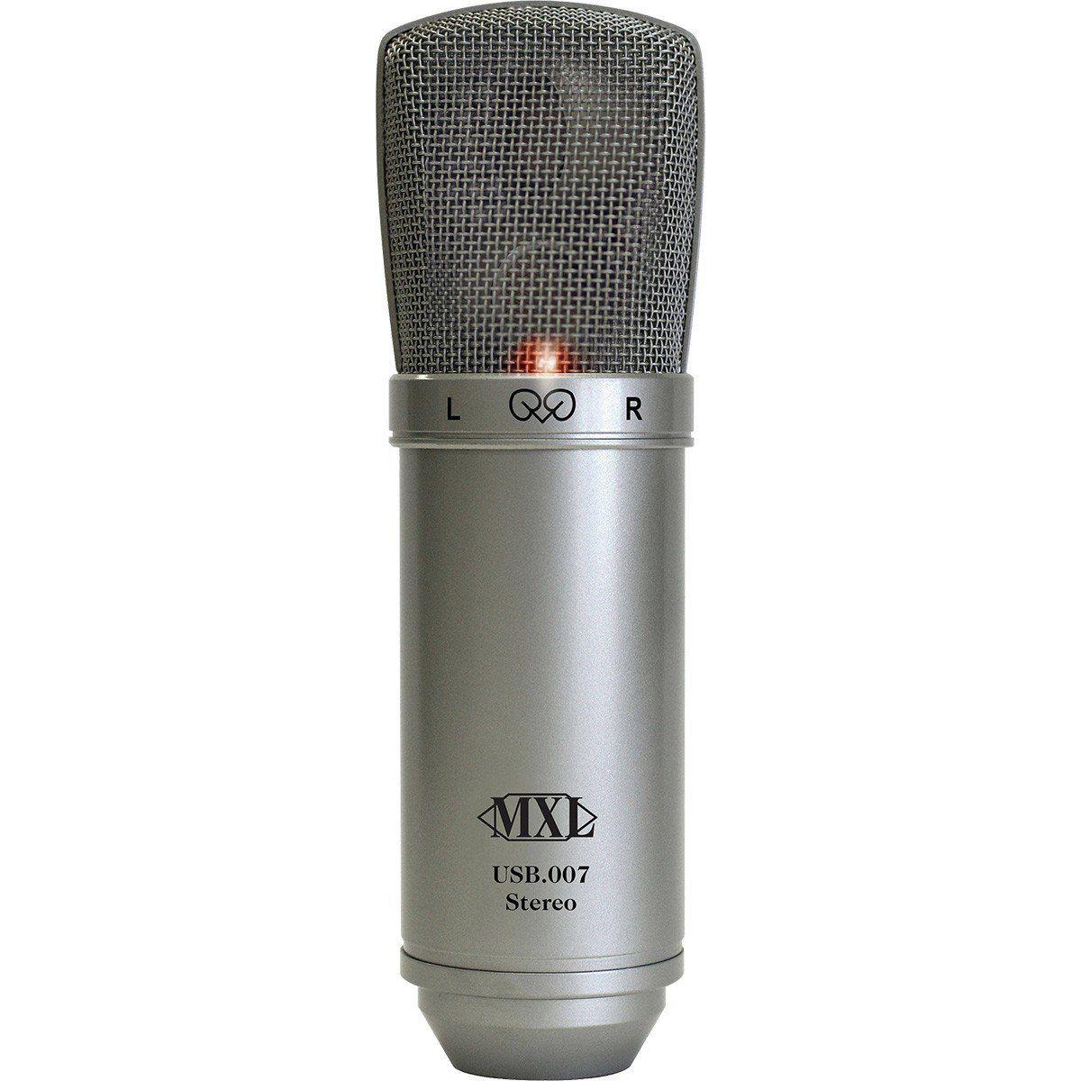 Mxl USB 007 Microfone Stereo Condensador Mxl USB-007 para Vocais e Instrumentos