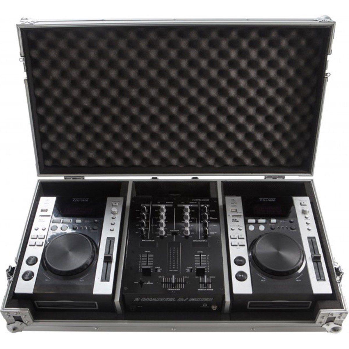 Napoli DJC 125 Case Napoli DJC-125 para CDJ e DJM