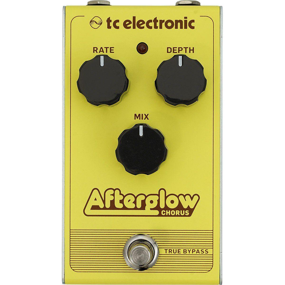 Tc Electronic Afterglow Chorus Pedal para Guitarra