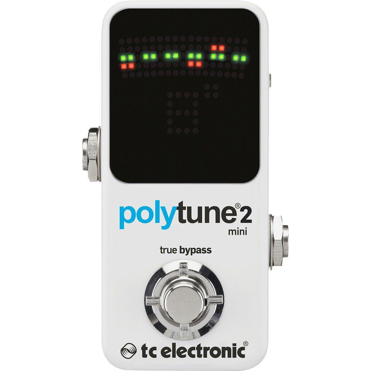 Tc Electronic Polytune 2 Mini Pedal para Guitarra