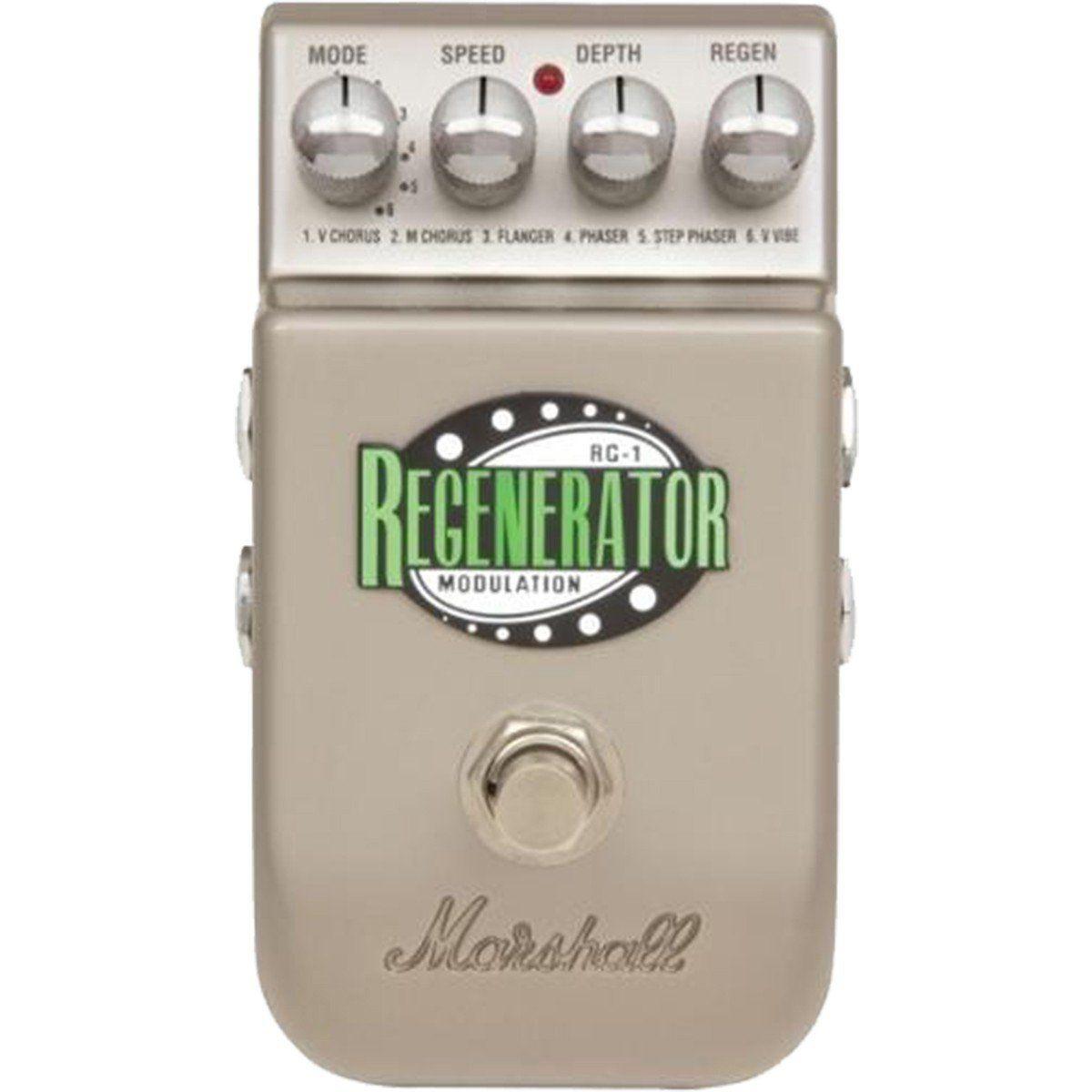 Marshall PEDL-10036 RG-1 Regenerator Pedal para Guitarra com Chorus Flanger e Phaser