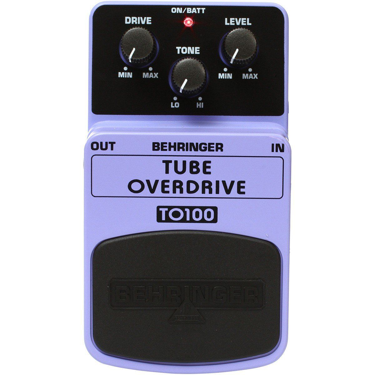 Behringer TO100 Tube Overdrive Pedal para Guitarras e Performances ao Vivo