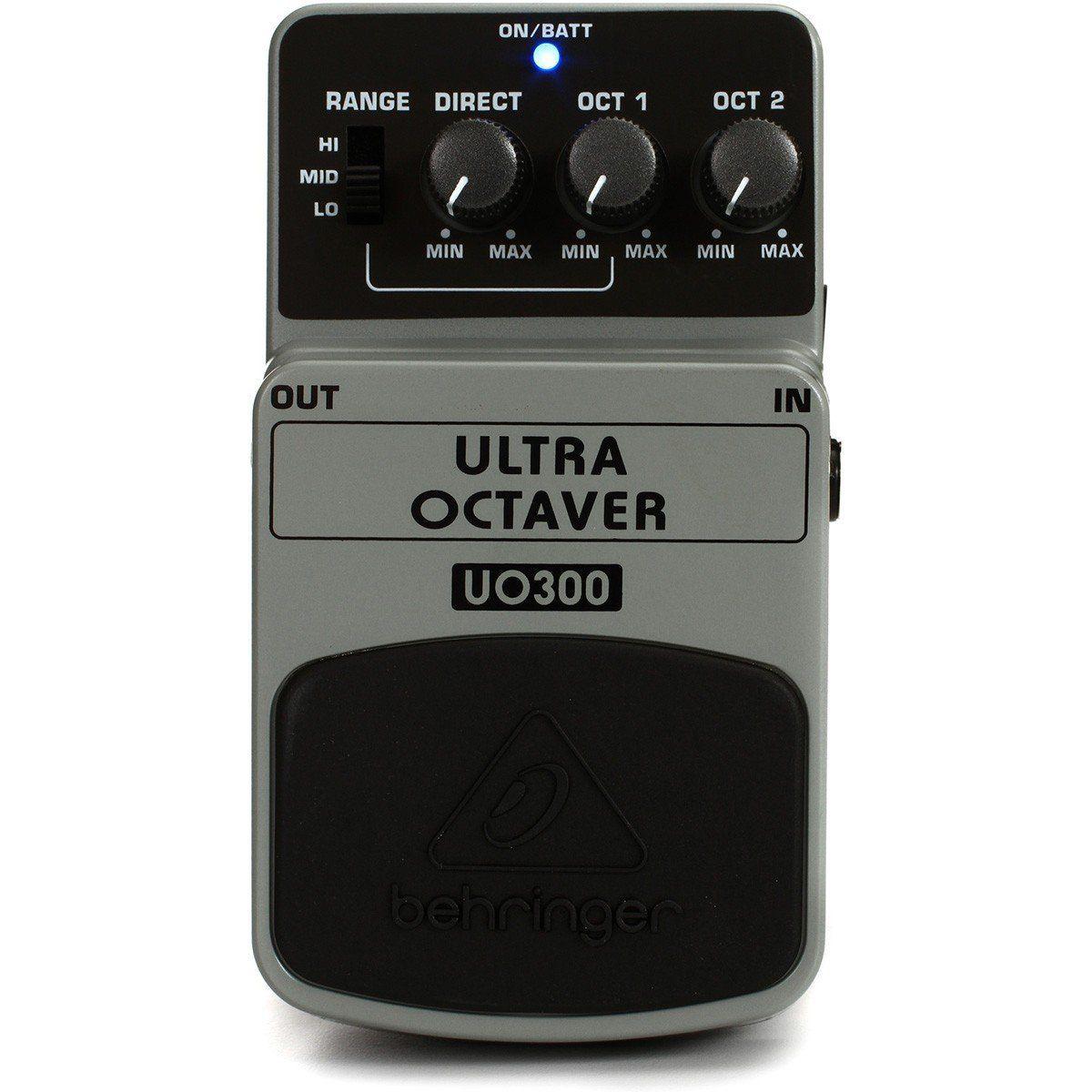 Behringer UO300 Ultra Octaver Pedal para Guitarra Profissional Iniciante Home Studio