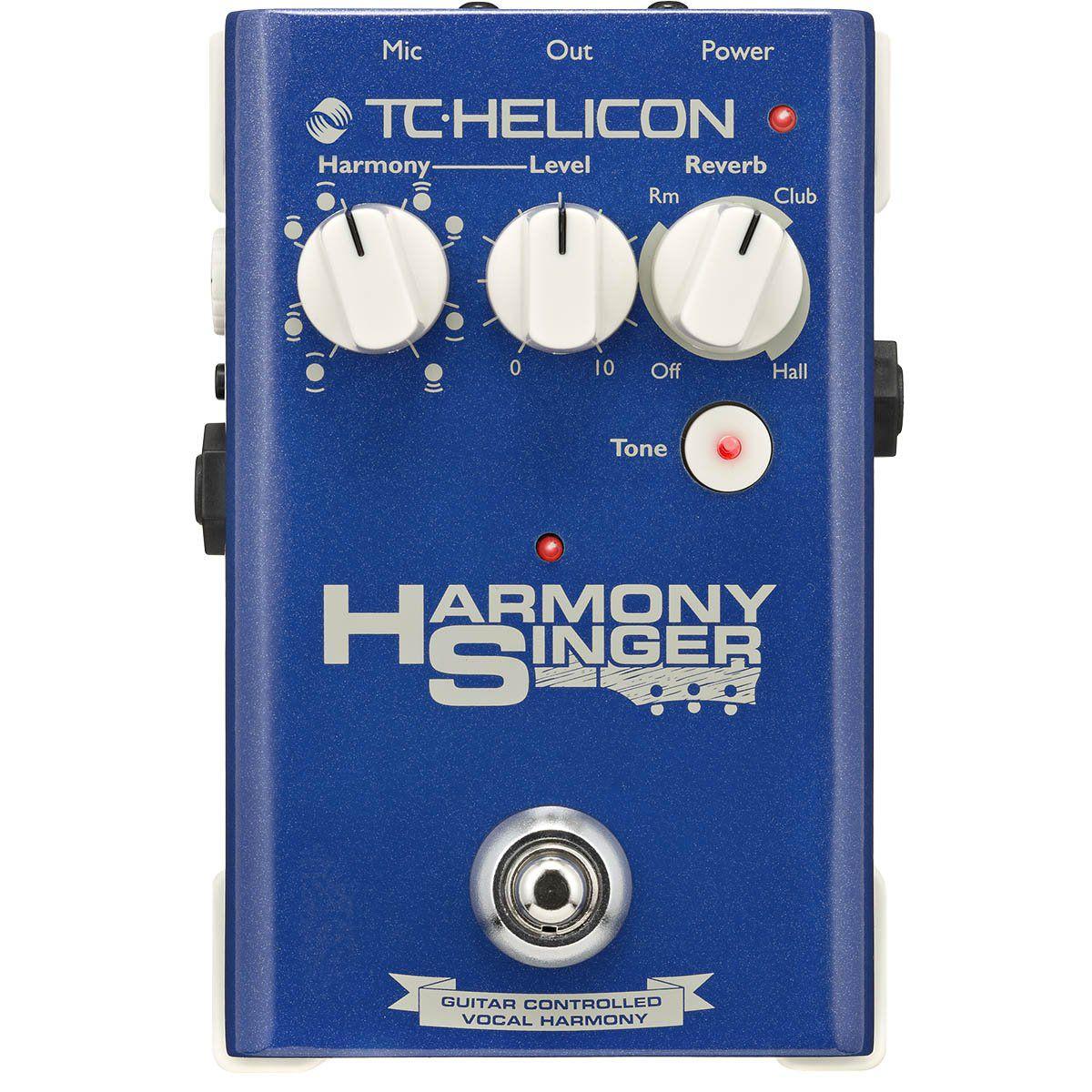 Tc Helicon Harmony Pedal Tc Helicon Harmony Singer para Vocal