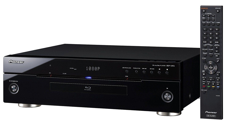Pioneer BDP-51FD HDMI Áudio 7.1 Usado Blu-ray Disc Player