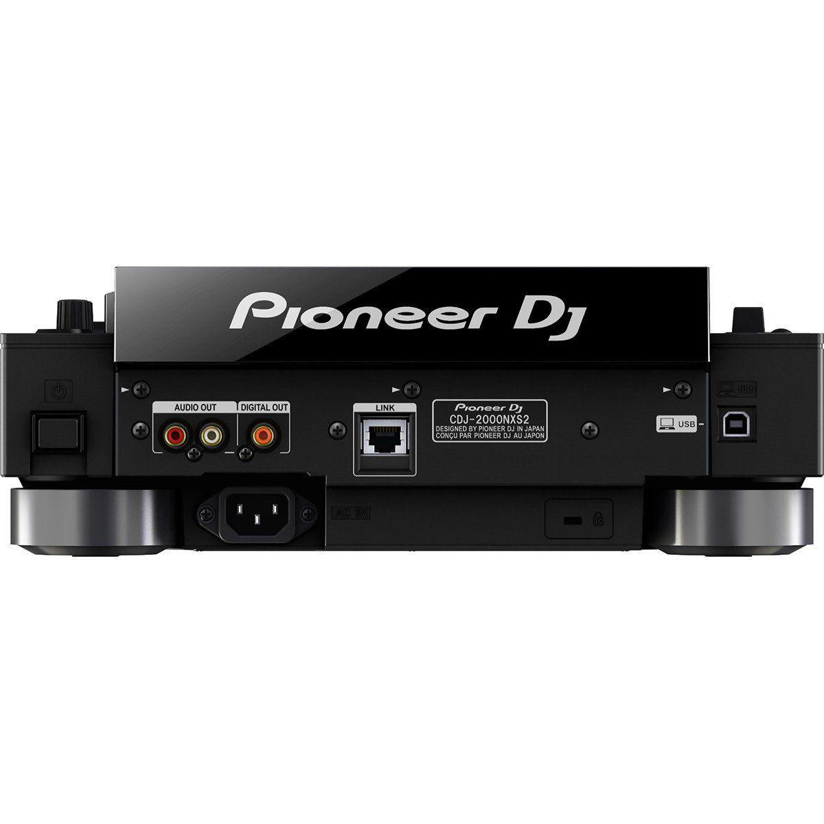 Pioneer CDJ-2000 Nexus 2 Player BiVoltPioneer CDJ2000 Nexus 2 CDJ Profissional