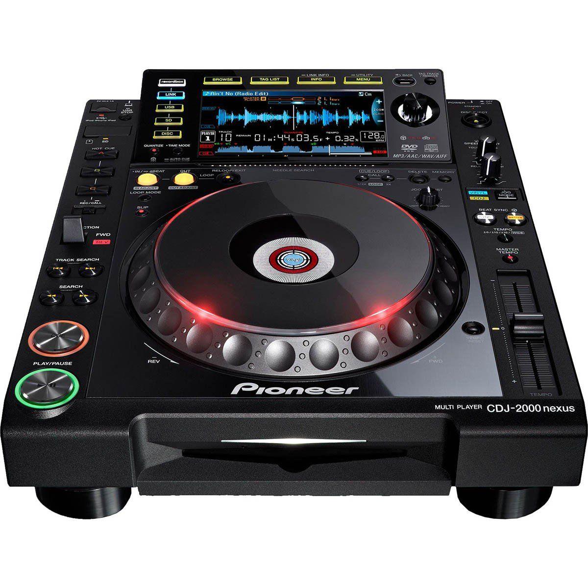 Pioneer CDJ-2000 Nexus Player para DJ Pioneer CDJ-2000 Profissional para Mixagem