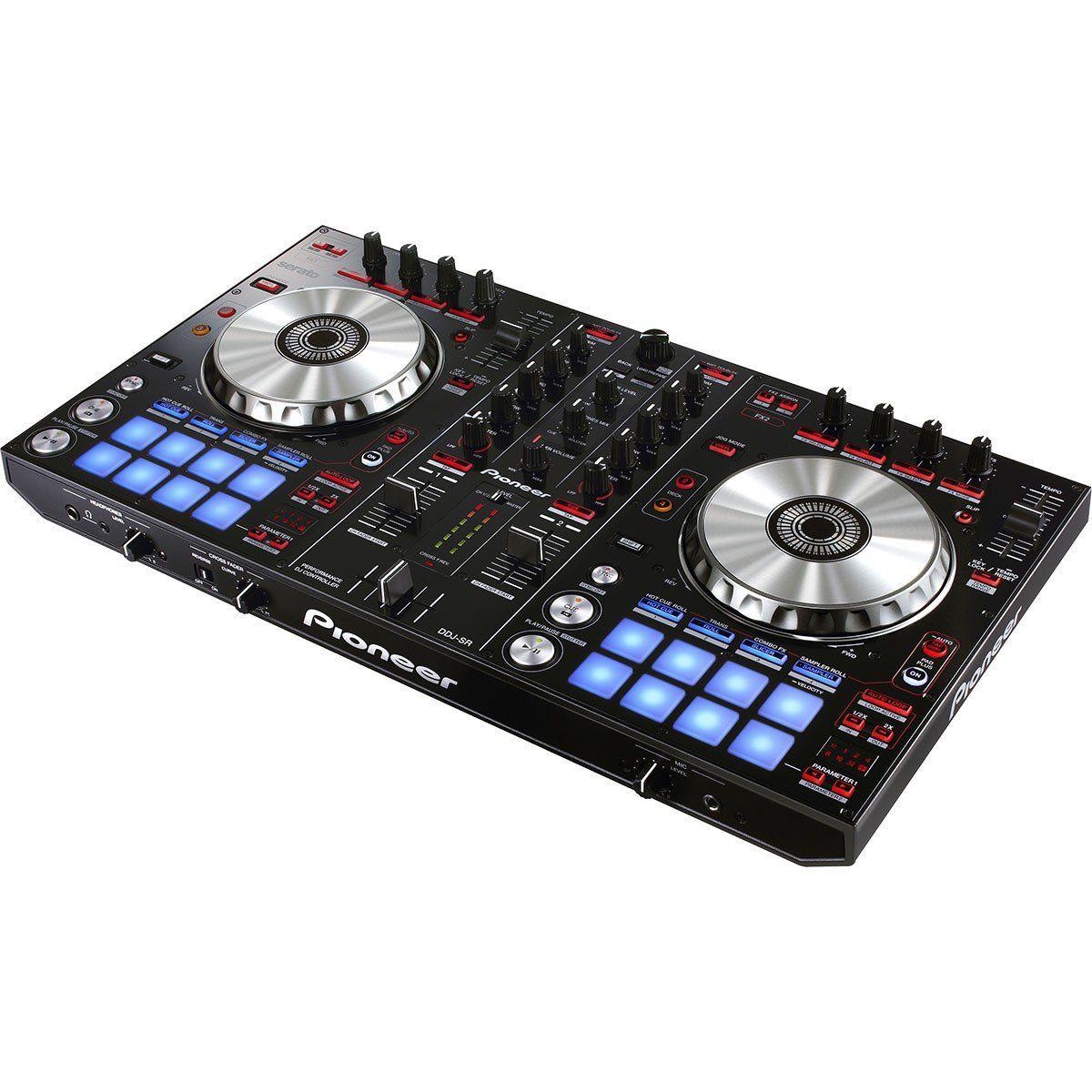 Pioneer DDJ-SR Controladora DJ DDJ SR 2-Canais 4-Decks Serato