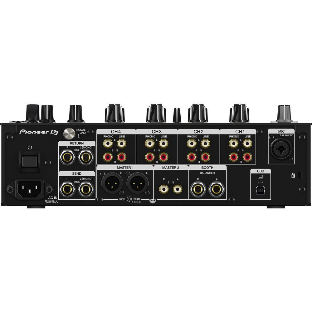 Pioneer DJM-750 MK2 Mixer DJM750 mk2 com 4 Canais