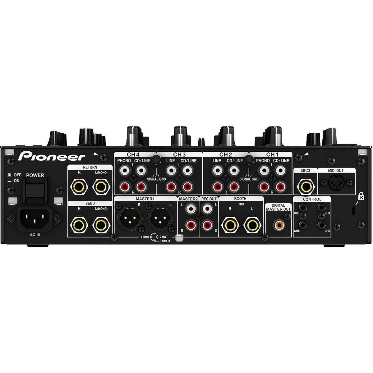 Pioneer DJM-850 Mixer com 13 Efeitos e Traktor Pioneer DJM850 para DJ Profissional