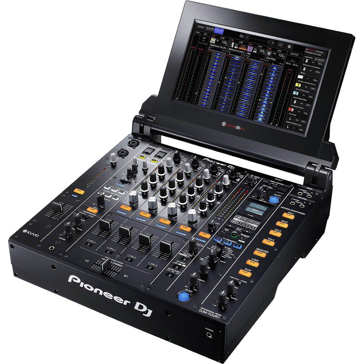 Pioneer DJM Tour1 Mixer Pioneer DJM-Tour1 com 4 Canais