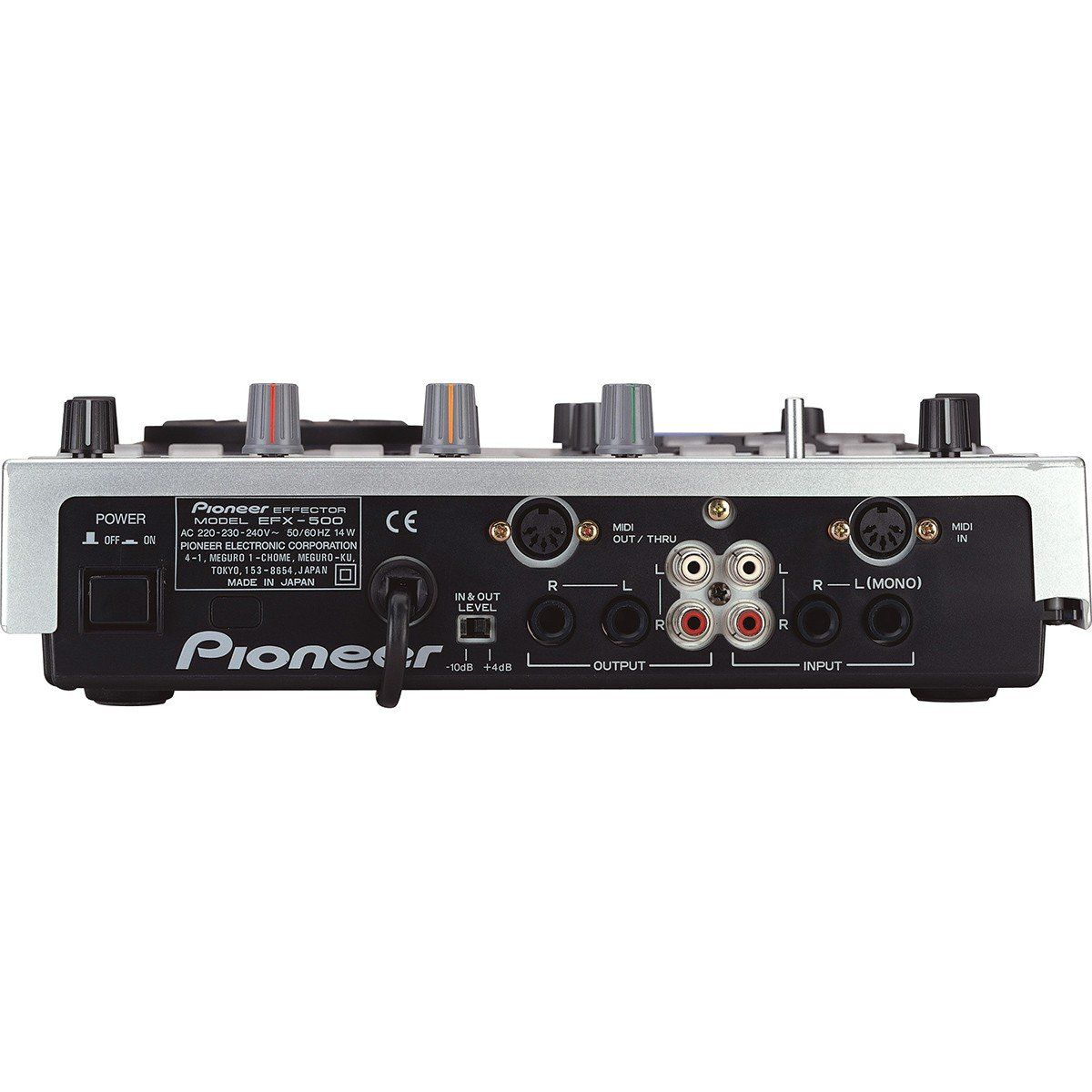 Pioneer EFX-500 Processador de Efeitos Pioneer EFX 500 com 2 canais