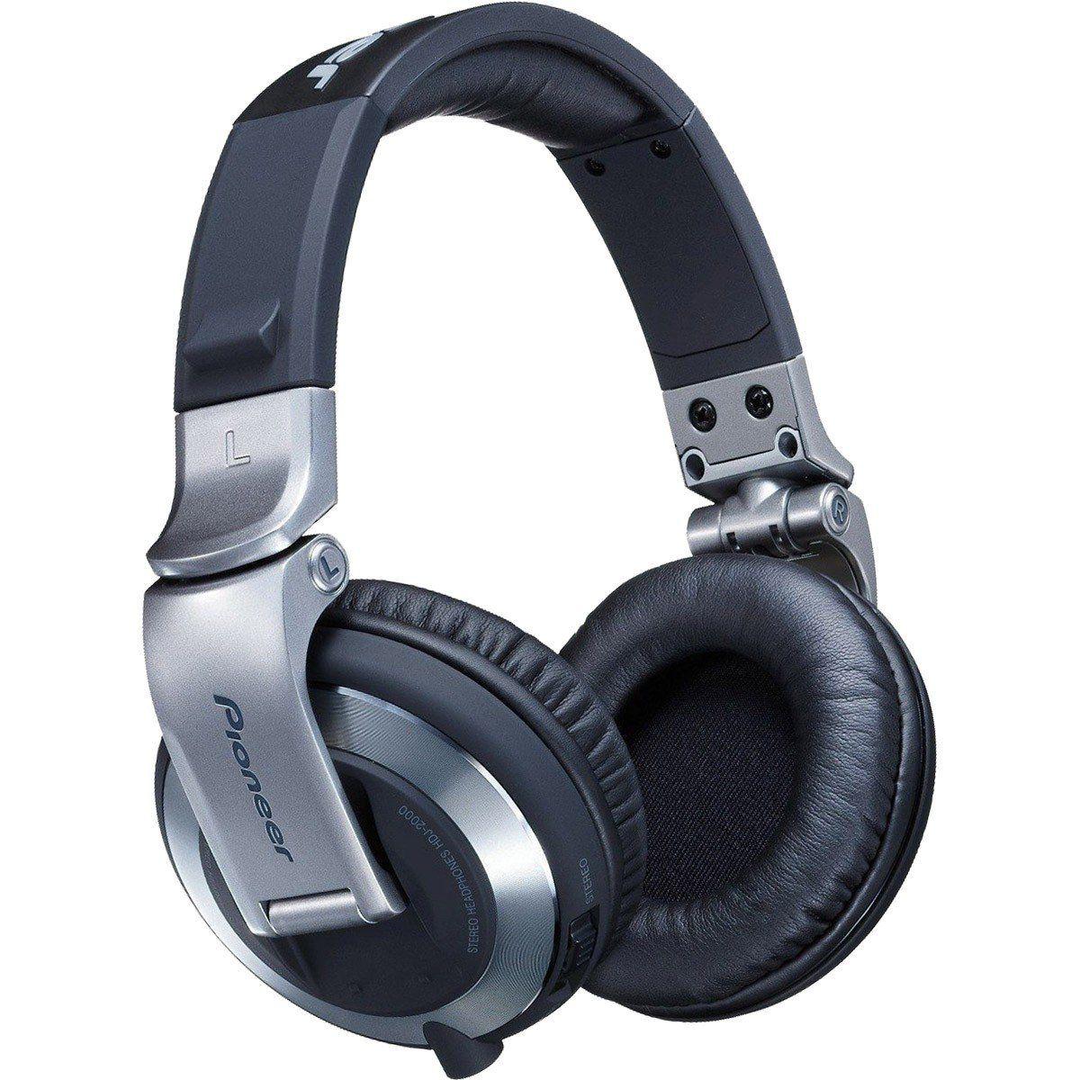 Pioneer HDJ-2000 Fone de Ouvido HDJ2000 Fechado Para DJ Profissional Confortável