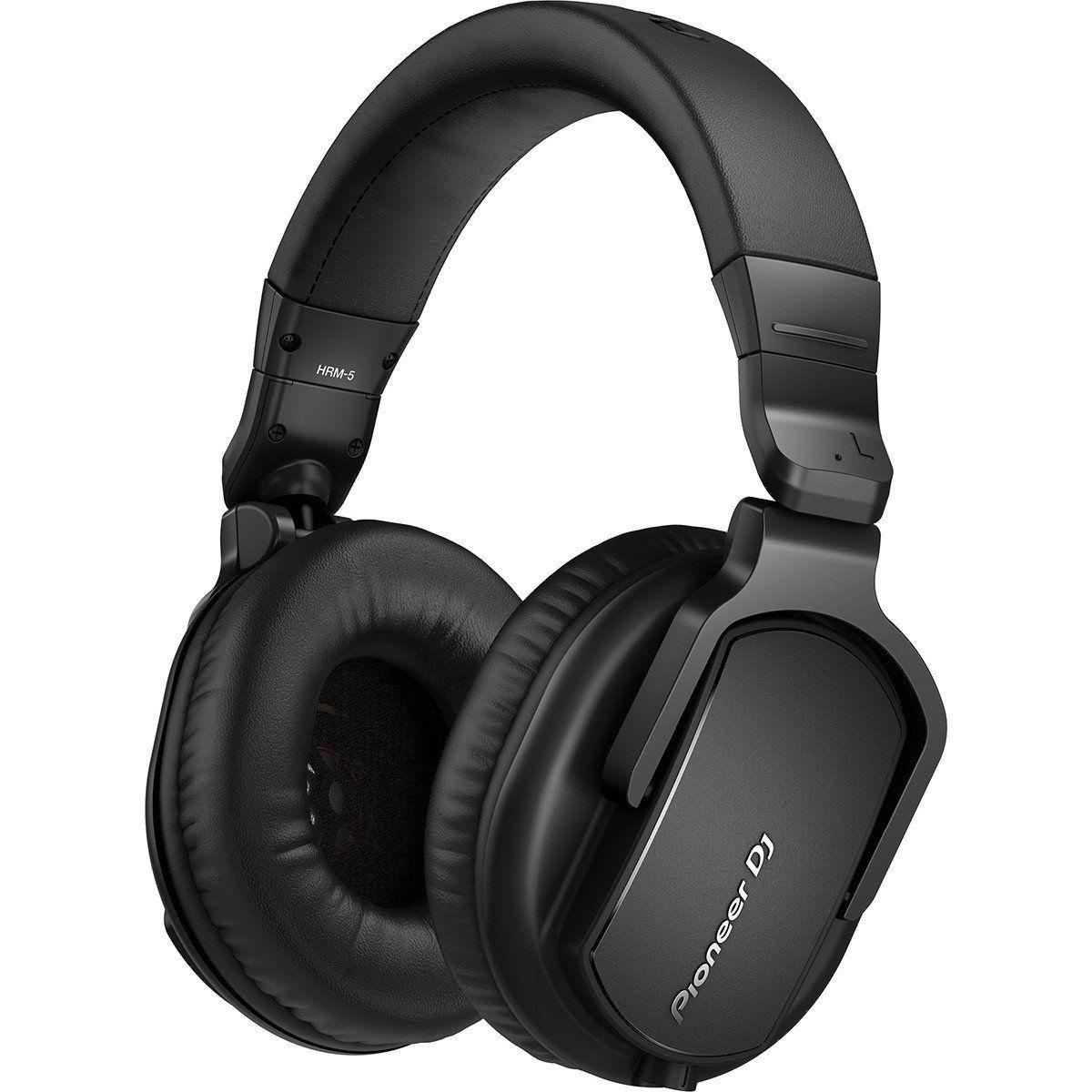 Pioneer HRM 5 Fone de Ouvido HRM-5 Profissional Fechado para Estúdio com Isolamento