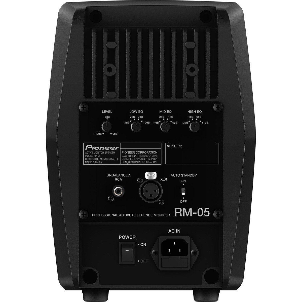 Pioneer RM-05 Monitor de Áudio Ativo Pioneer RM 05 com Qualidade Profissional