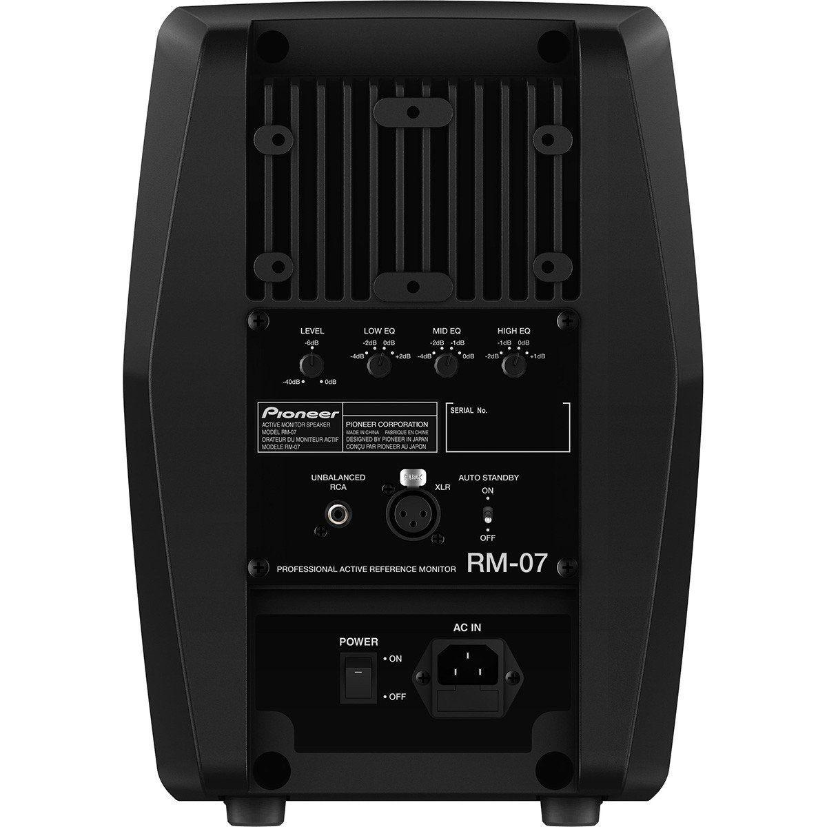 Pioneer RM-07 Monitor de Áudio Pioneer RM 07 de 100W