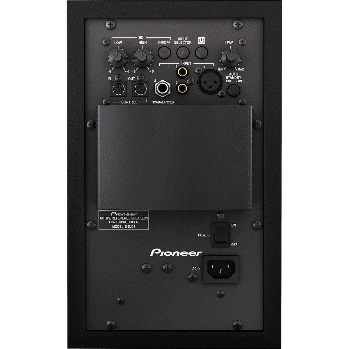 Pioneer S-DJ05 Monitor de Áudio Ativo Pioneer SDJ05 com 45W de Potência