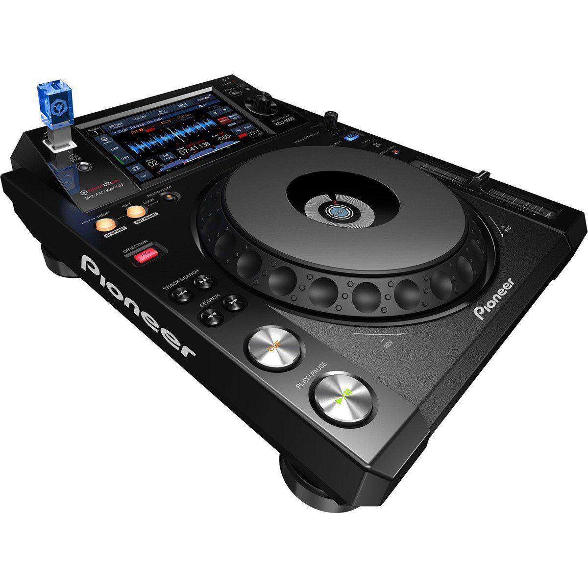 Pioneer XDJ-1000 Player Usb Pioneer XDJ1000 para Dj Profissional