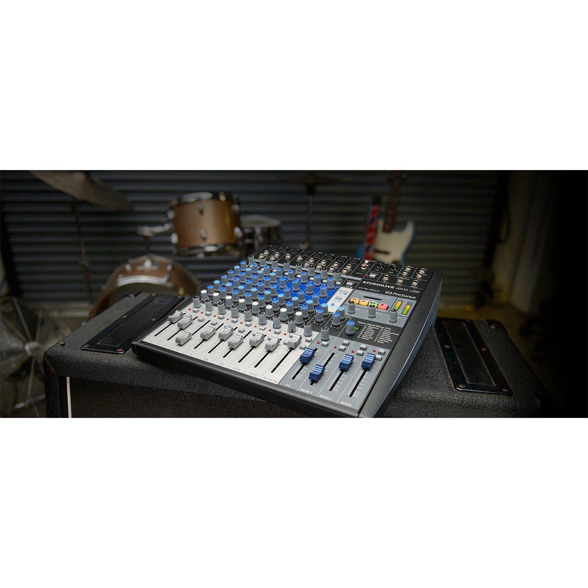 Presonus StudioLive AR12USB Mesa de Som AR-12-USB 14 Canais Analógica e Digital