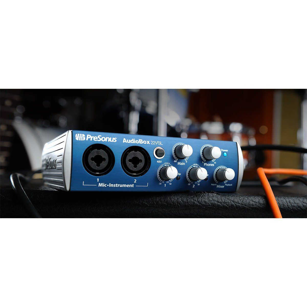 Presonus AudioBox 22VSL Interface de Audio Audio Box 22 VSL 2x2 Usb 24-Bit 96-Khz