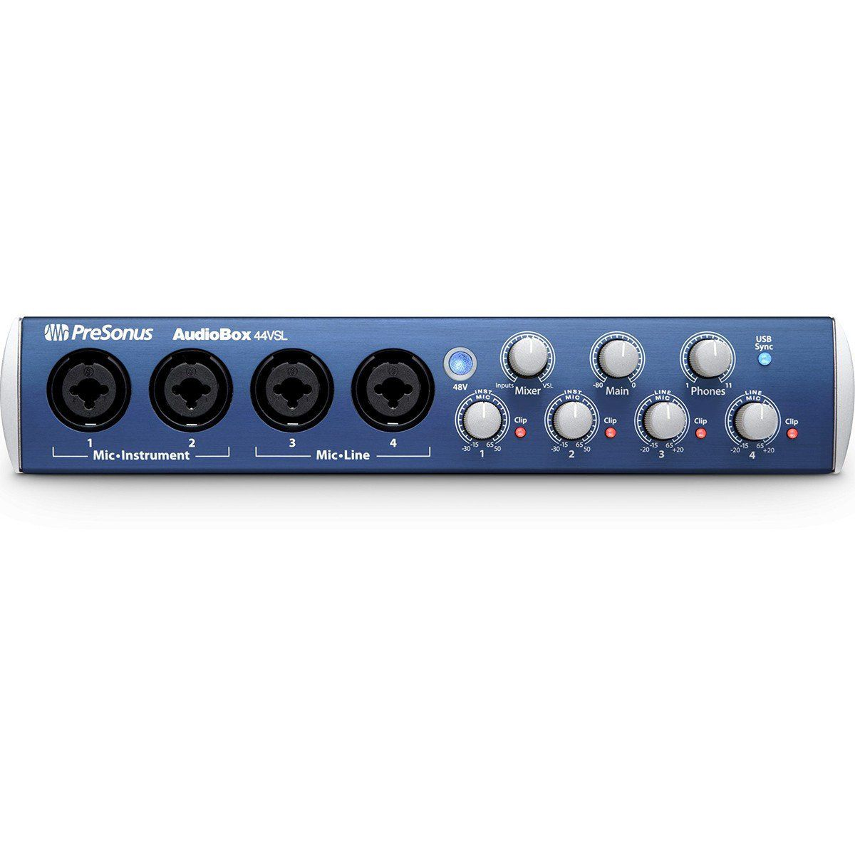 Presonus AudioBox 44VSL Interface de Áudio Audio Box 44 VSL Usb 4x6 Pc Mac Midi
