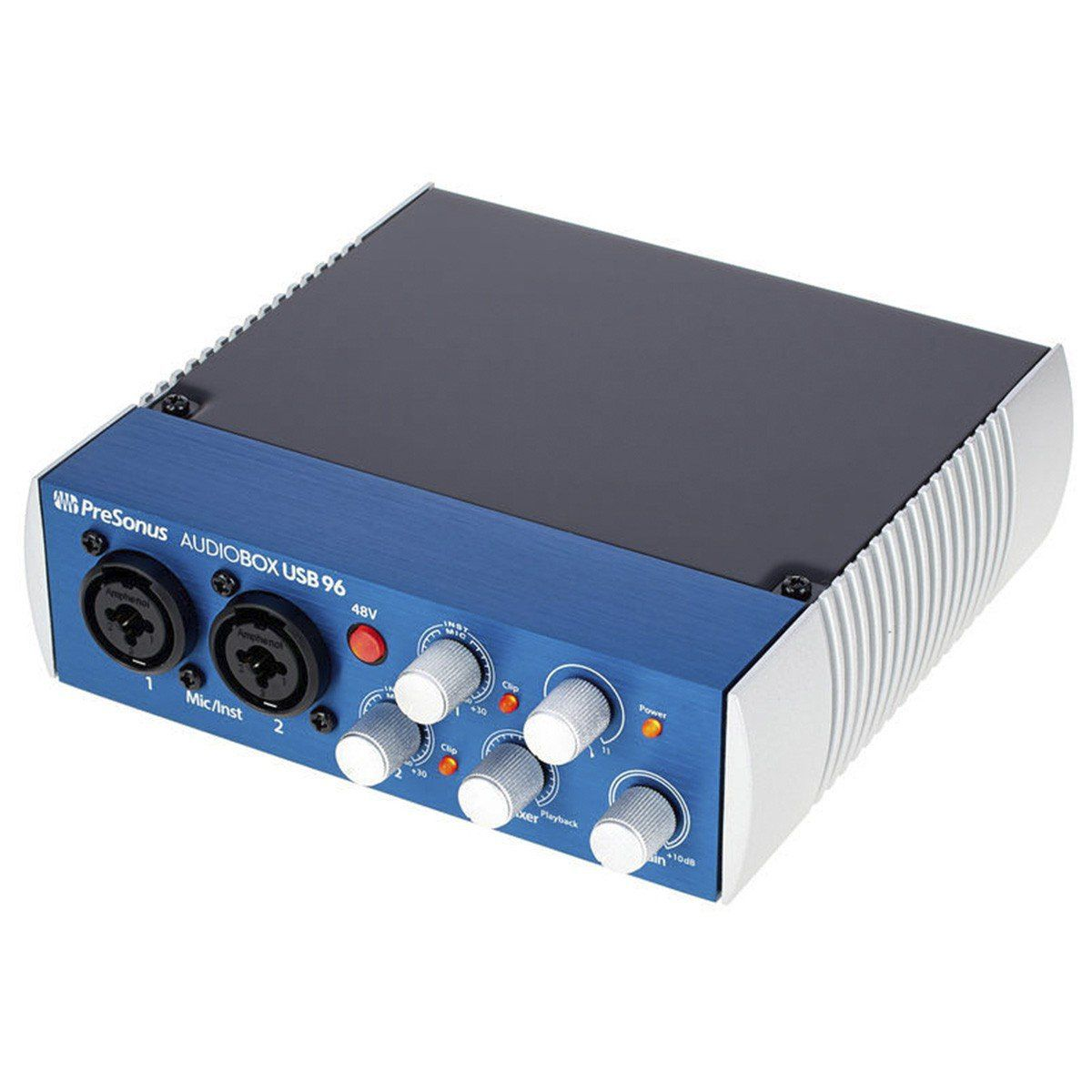 Presonus AudioBox 96 Interface de Áudio Audio Box 96Usb 2x2 Midi Pc Mac 24-Bit 96-Khz
