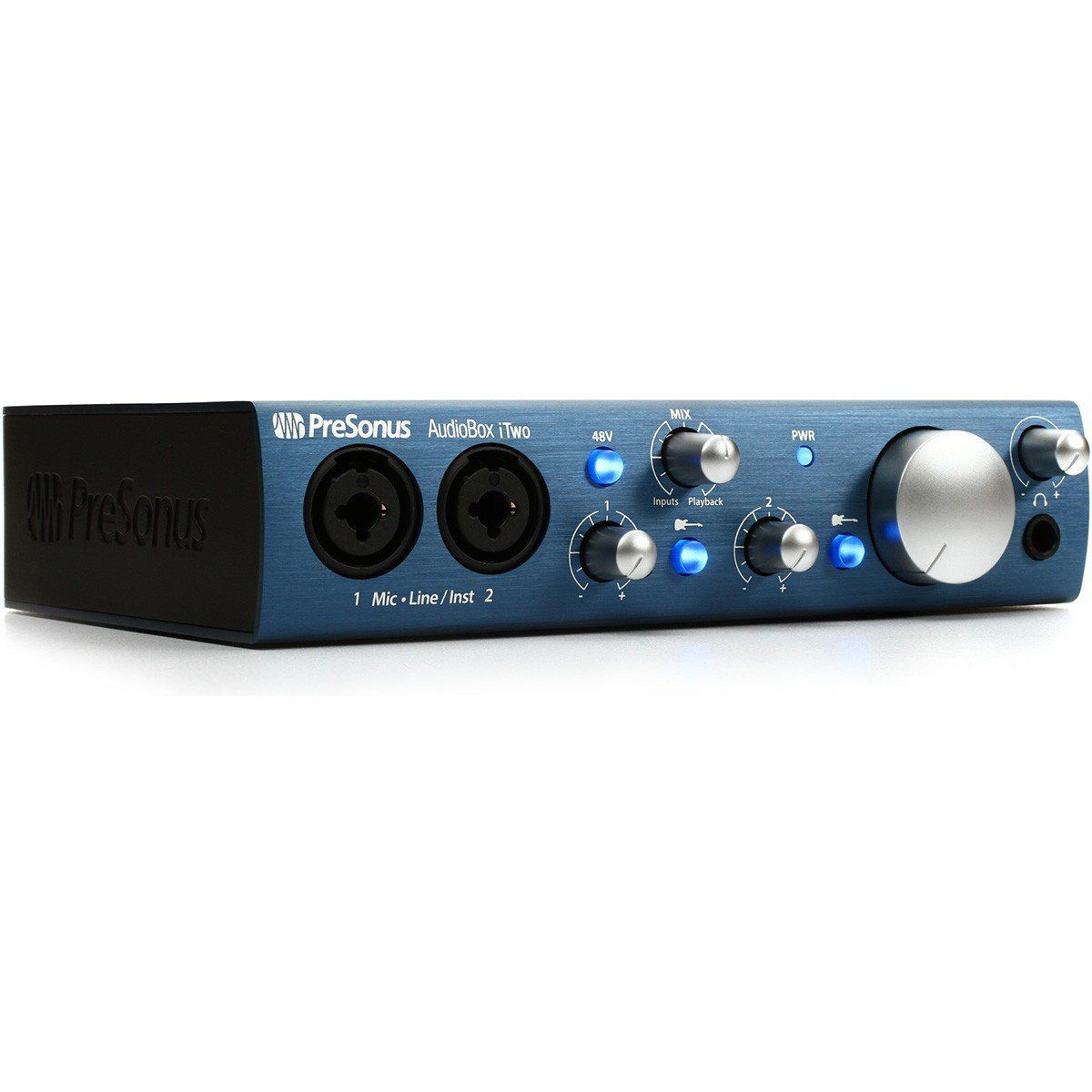 Presonus AudioBox iTwo Interface de Áudio Audio Box i-Two 2x2 Mac Pac iPad Usb