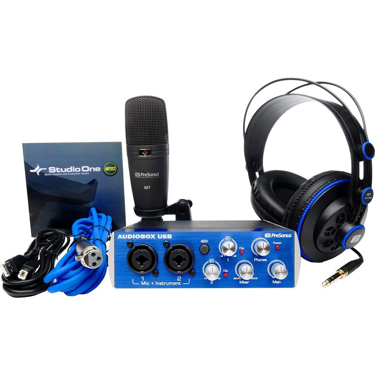 Presonus AudioBox Studio Kit de Gravação AudioBox Studio para Home Studio