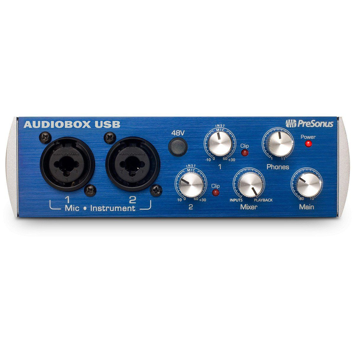 Presonus AudioBox Usb Interface de Áudio Audio Box 2x2 Mac Pc StudioOne 24-Bit 48-Khz