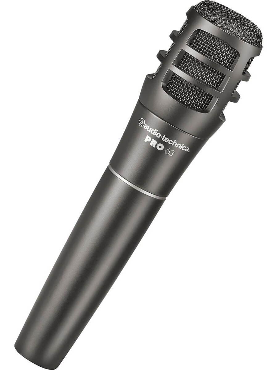 Audio Technica PRO 63 Microfone Cardioide Dinâmico PRO63 para Instrumentos