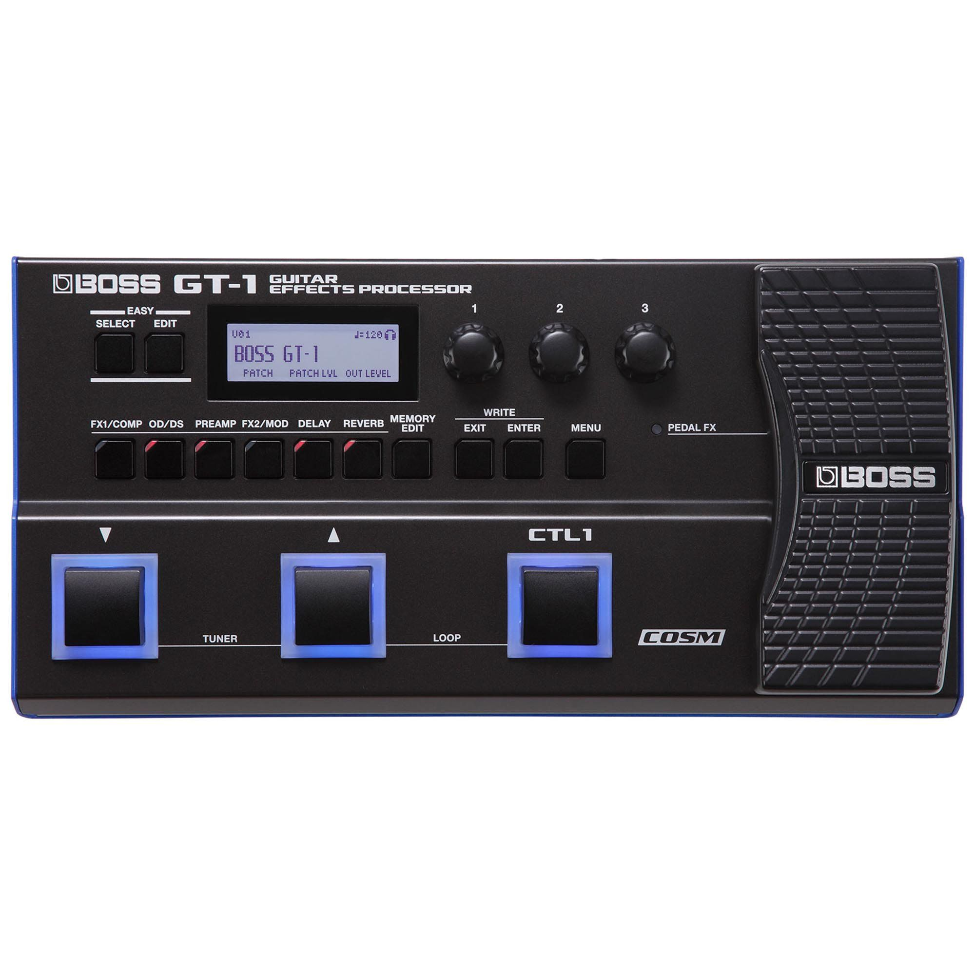 Boss GT1 Processador de Efeitos Boss-GT1 Para Guitarra