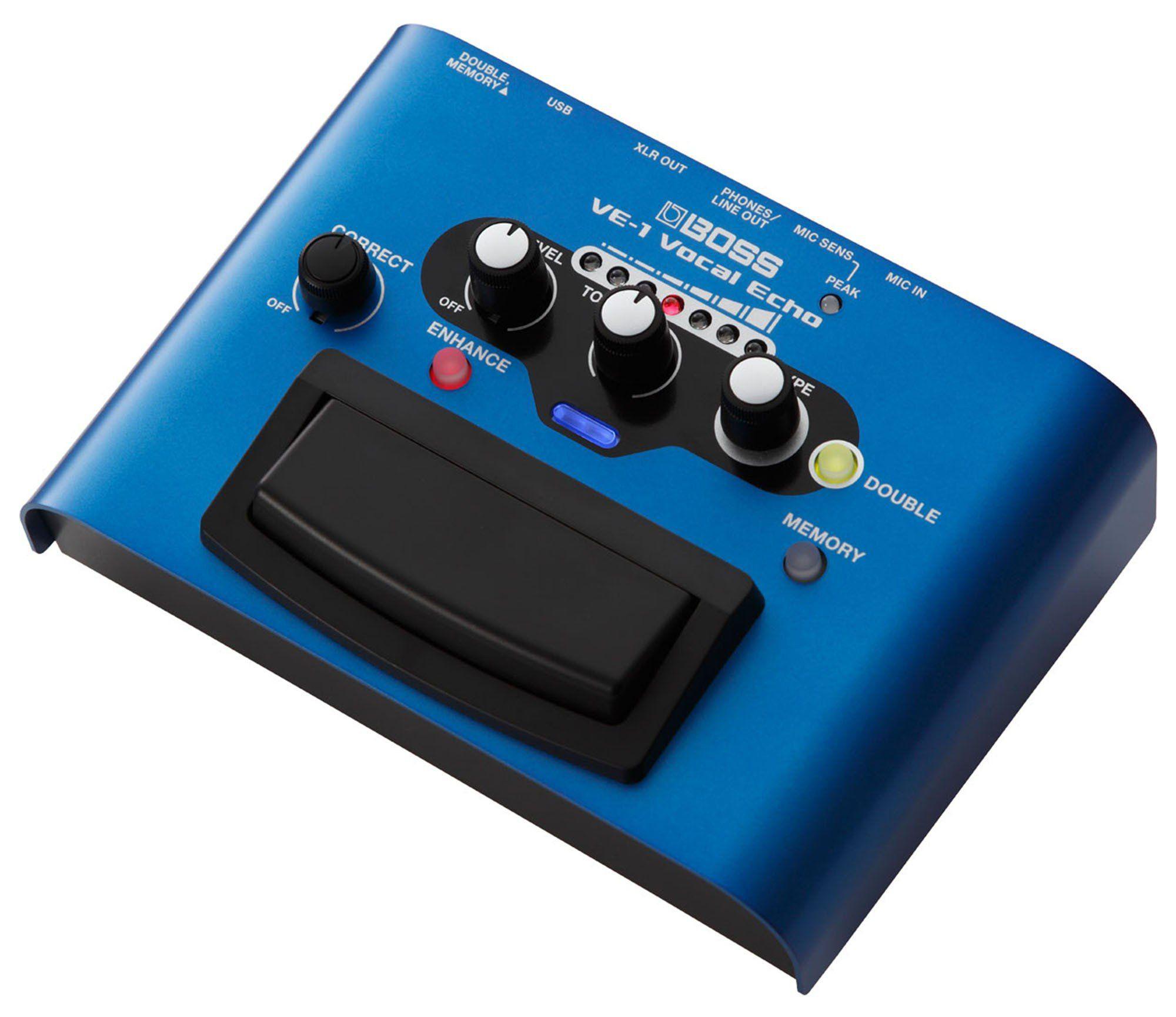 Boss VE-1 Processador de Efeitos Boss VE 1 Vocal