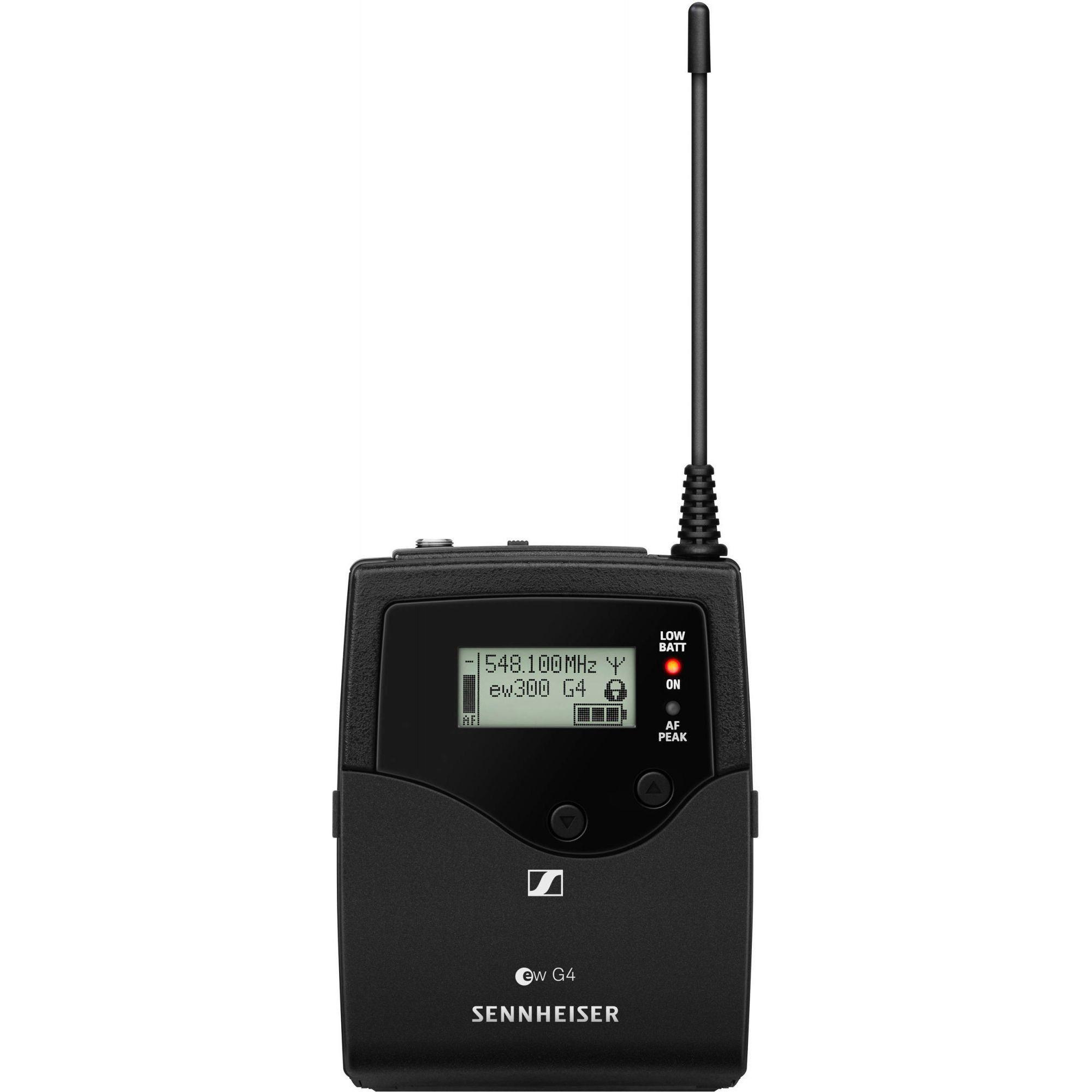 Senheiser EW 300 G4-Base Combo Sistema sem fio com microfone EW 300 G4 BASE COMBO