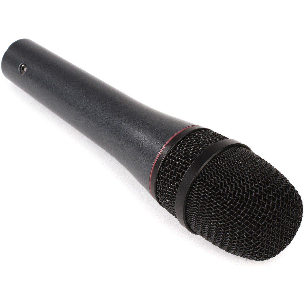 Sennheiser E 865 Microfone Condensador Supercardióide E865 para Vocais e Performances