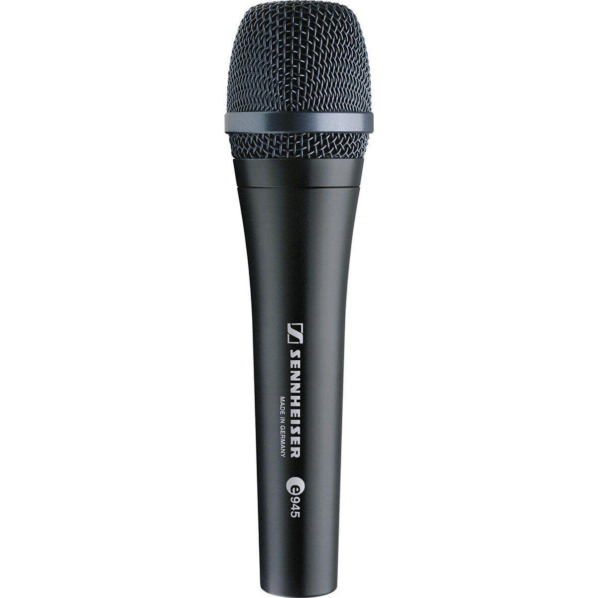 Sennheiser E945 Microfone Dinâmico Supercardióide Sennheiser E 945 para Vocais