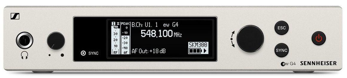 Sennheiser EM 300-500 G4 Receptor para Sistemas sem fio EM 300/500 G4