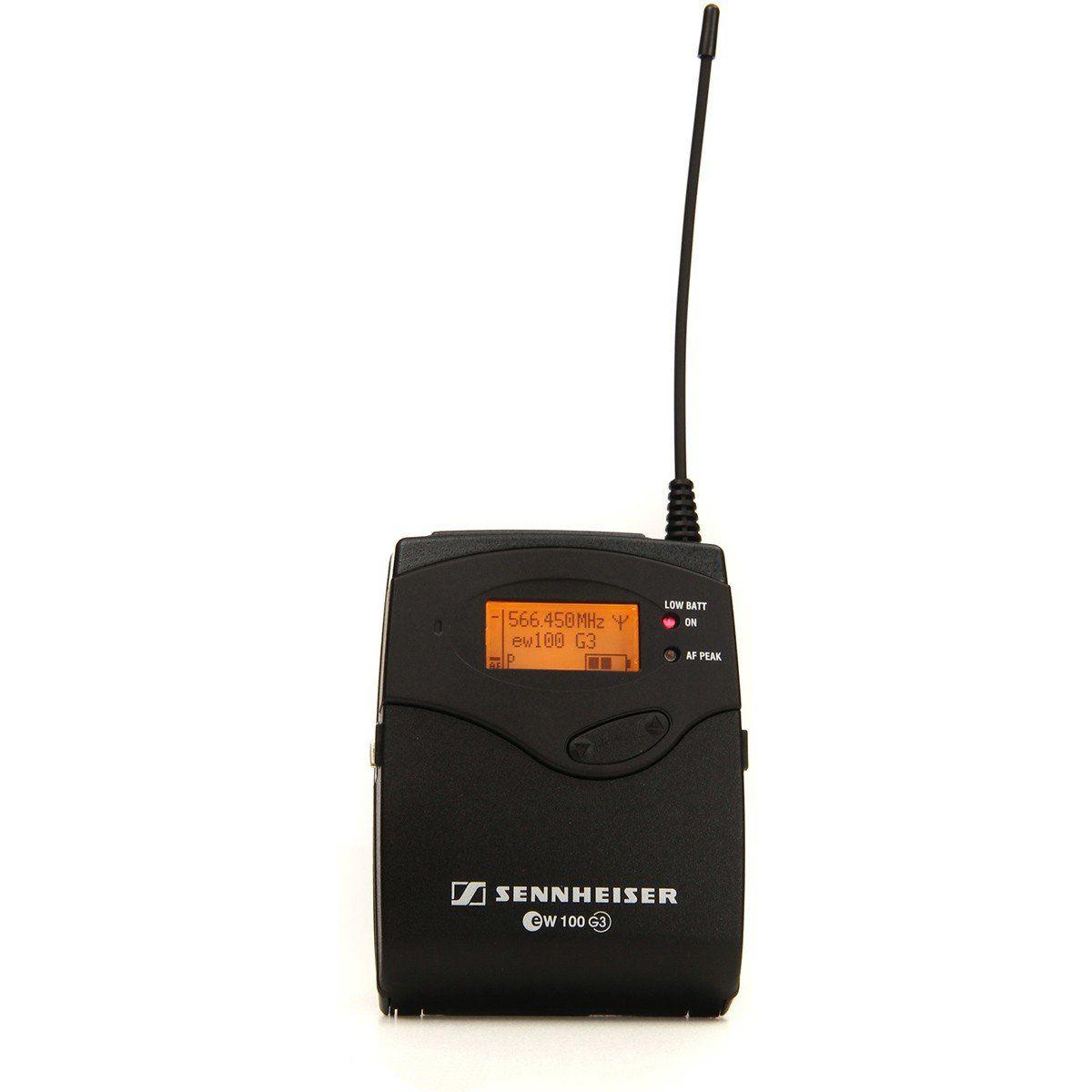 Sennheiser EW112-G3 Microfone Sennheiser EW 112-G3 para Apresentações e Palestras