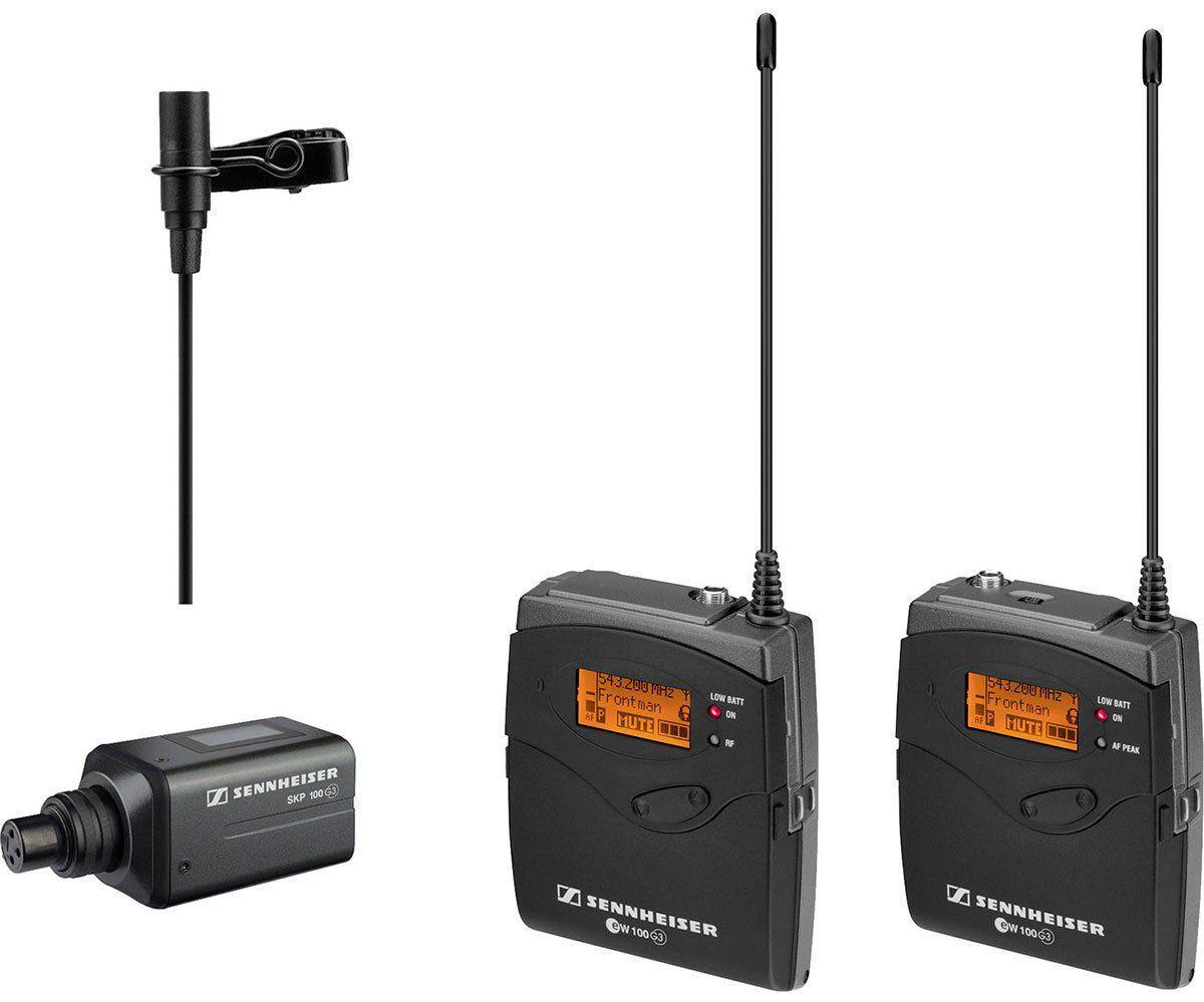 Sennheiser EW 100-ENG G3 Sistema de microfone sem fio Sennheiser EW100ENGG3