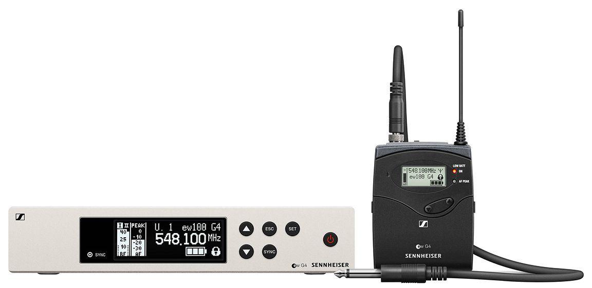 Sennheiser EW 100 G4-Ci1 Sistema sem Fio EW100G4-Ci1 com cabo para Guitarra
