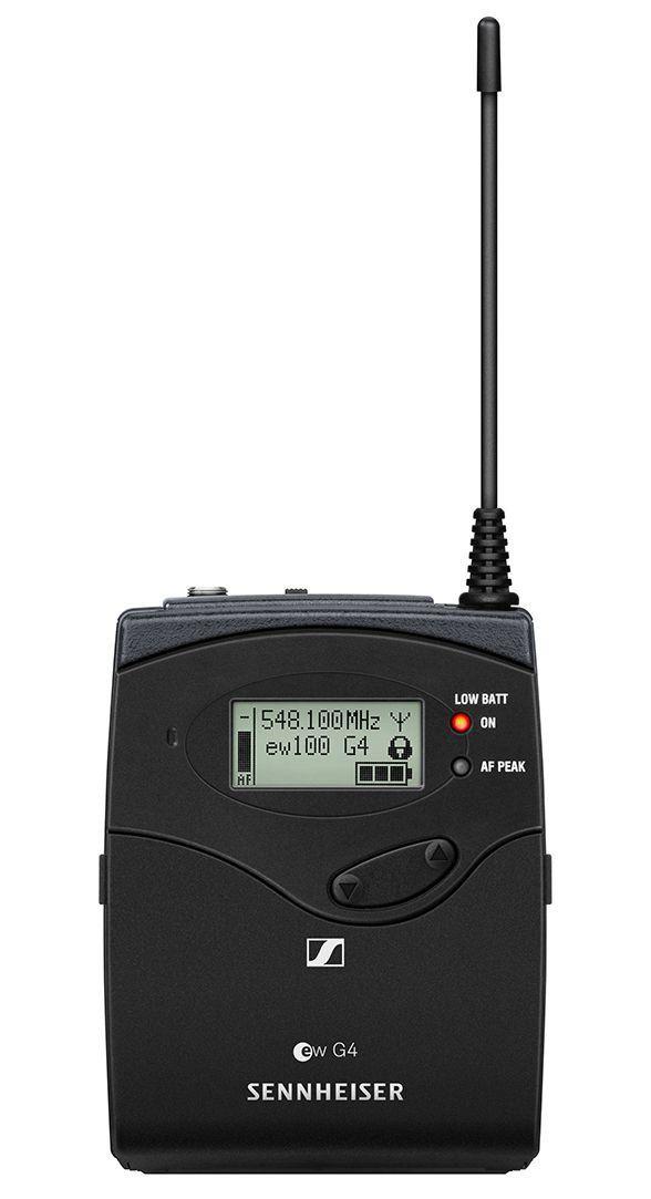 Sennheiser EW 100 G4-ME3-II Sistema sem Fio EW 100 G4-ME3 para apresentações