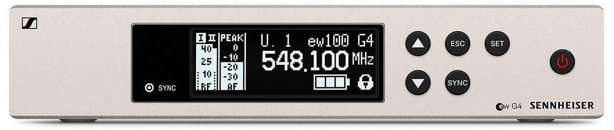 Sennheiser EW 100 G4-ME4 Sistema sem Fio EW100G4-ME4 para entrevistas